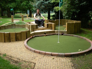 Mini Golf at Lammas Park Recreation Ground in Staines