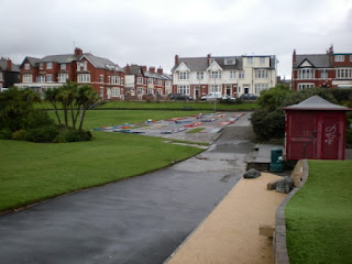 Crazy Golf course and Putting Green at Gynn Gardens in Blackpool