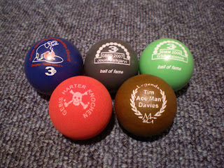 Minigolf sport balls