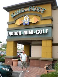King Putt Indoor Mini Golf in Henderson, Las Vegas, Nevada