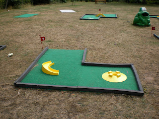 Mini Golf in Christchurch Park, Ipswich