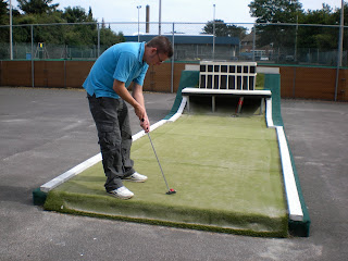 Crazy Golf at Folkestone Sports Centre