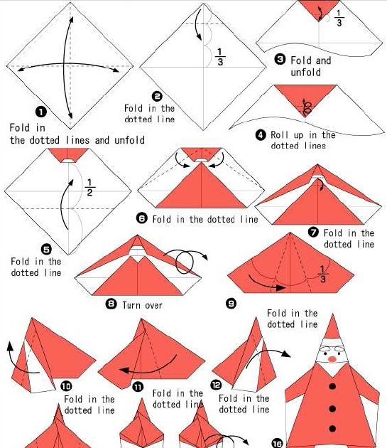 how to make a santa origami 28 images create extremely