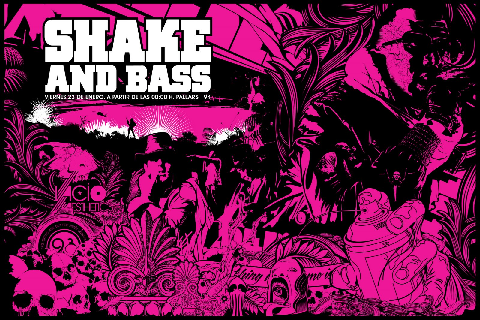 SHAKE AND BASS