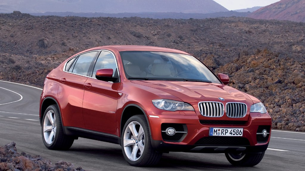 Bmw Widescreen Wallpaper Bmw X6 Red Front View Wallpaper 18