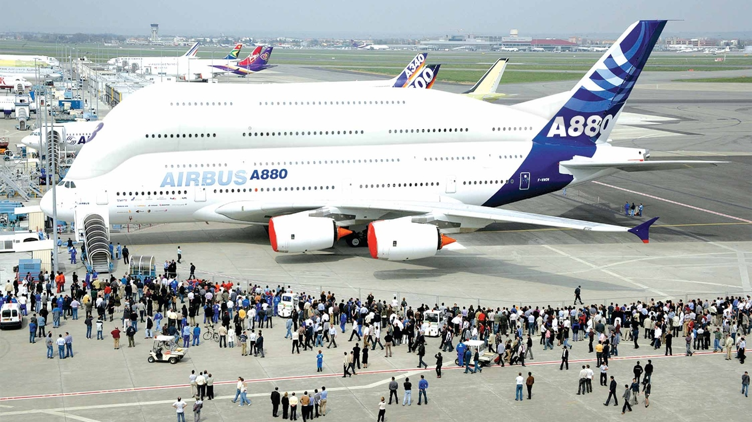 Airbus A880 Ultra Jumbo Jet Concept