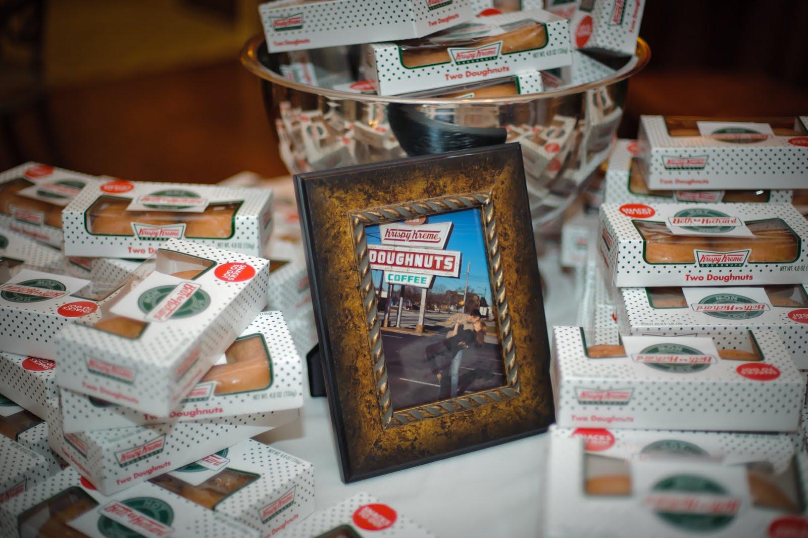 Krispy Kreme favori di nozze