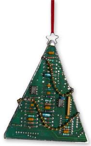 arbore de nadal cun circuito integrado