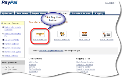 how to create payment link in paypal