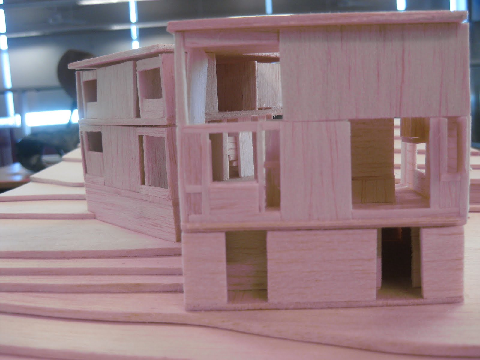 Arch Creations Norman Fisher House Model