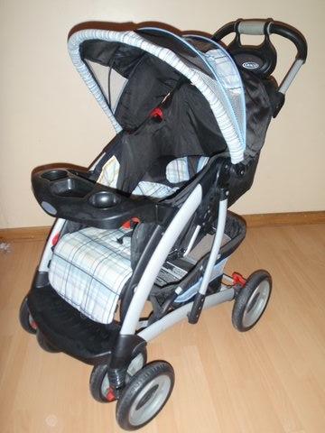 Sistema graco quattro tour coche y for Silla mecedora graco 6 velocidades
