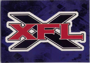 Captkirk42s trading cards blog xfl 2001 team logo stickers