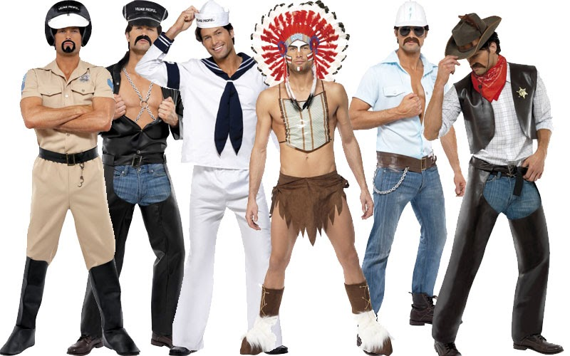 Fancy Dress: Village people fancy dress now in stock