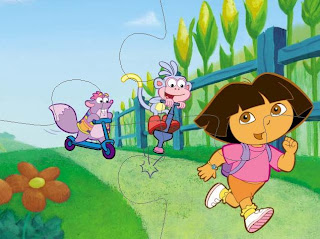 Kids Cartoon Gallery: Dora Game
