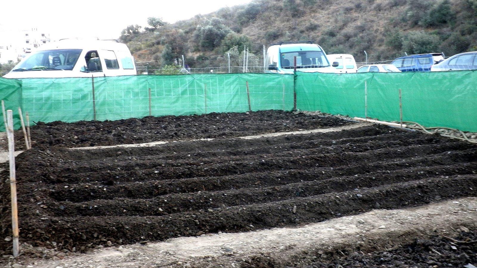 Jardinbio el huerto oto o invierno y primavera verano - Preparacion de la tierra para sembrar ...