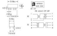 O transformador de pulso 16pt8515-4