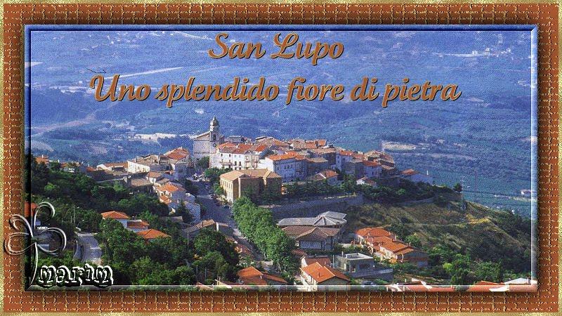 San Lupo -                               Uno splendido fiore di pietra