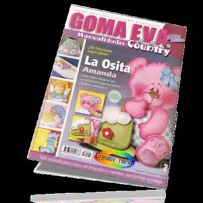 Goma Eva - Manualidades Country - N� 2