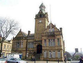 Cleckheaton Town Hall.