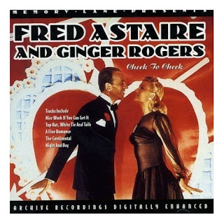 The cover of a CD containing songs from Fred and Ginger's movies.