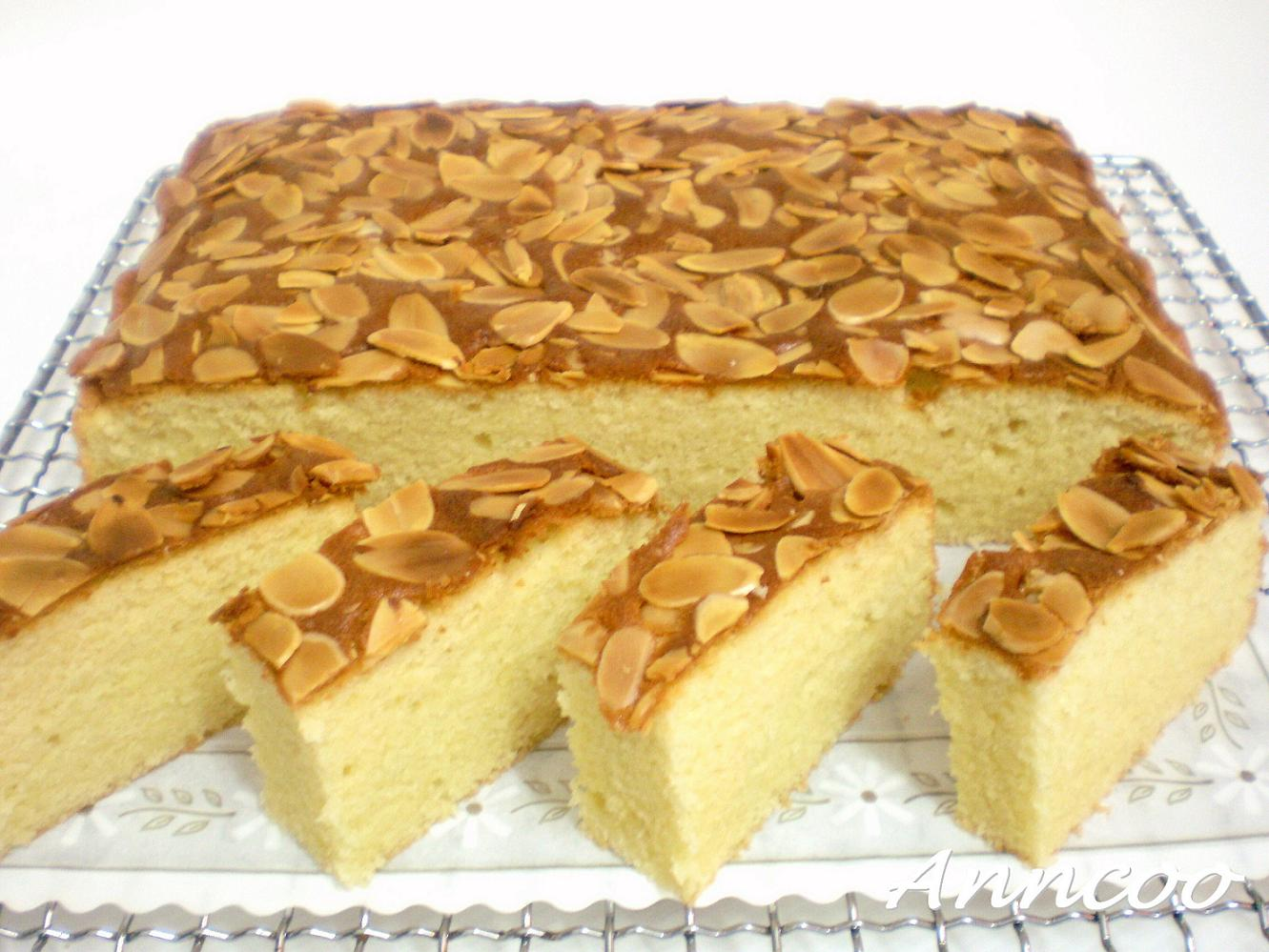 Almond Butter Cake - Anncoo Journal