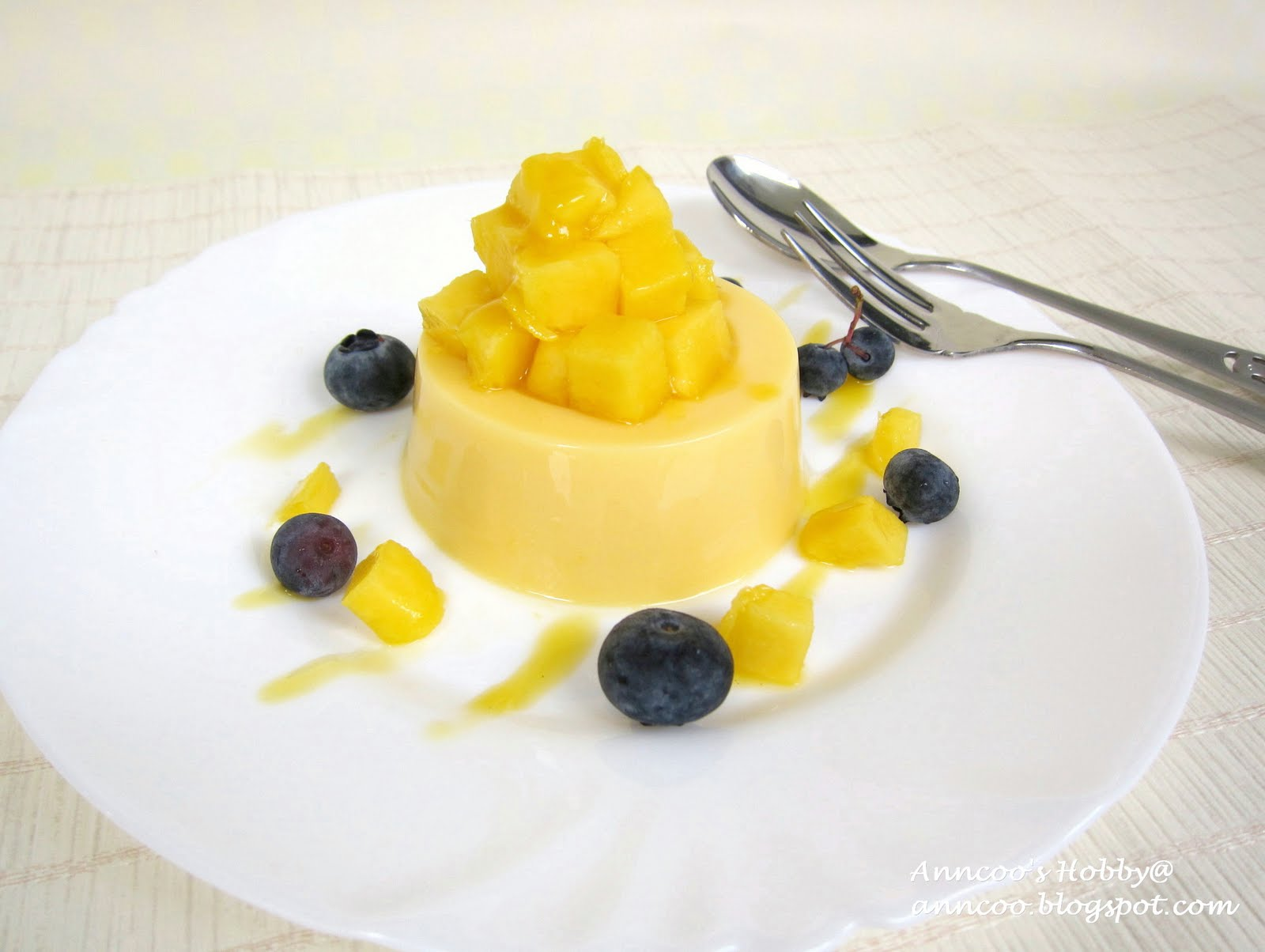Mango Pudding 芒果布丁 | Anncoo Journal - Come for Quick and Easy ...
