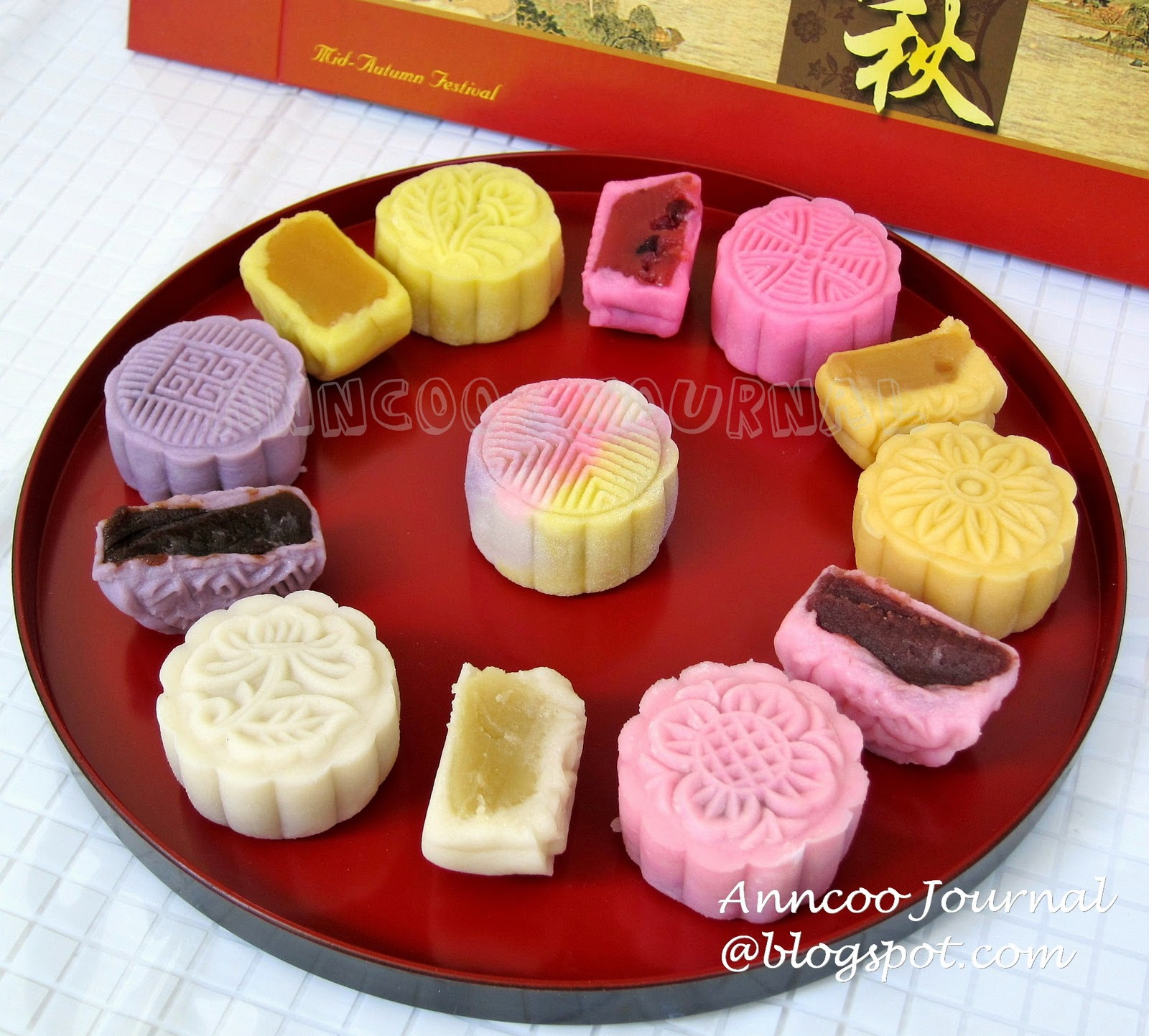 Easy Mooncake Images : Snow Skin Mooncake ???? (2010) - Anncoo Journal