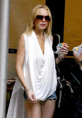 Lindsay Lohan Juicy Lips