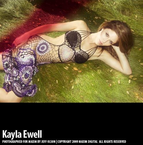 Kayla Ewell Maxim October 2009 Magazine Picture