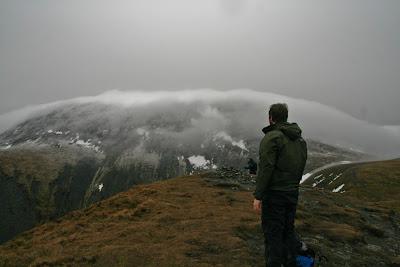 Skiddaw under cloud