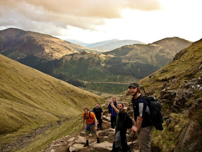 climbing Ben Nevis national 3 peaks challenge