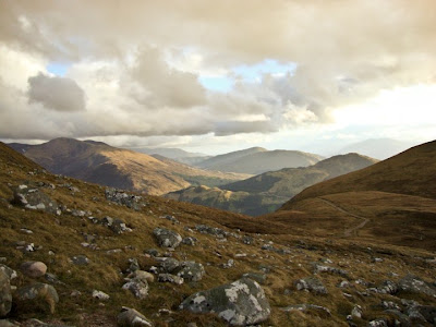 path down ben nevis