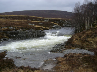 Chest of Dee Waterfall - Cairngorms