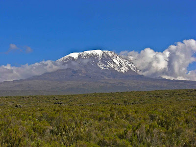 Kilimanjaro not in the cloud