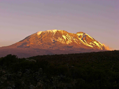 Sunset on Kilimanjaro