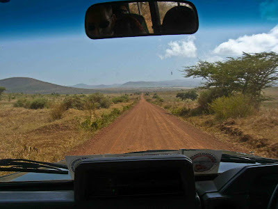 The road into Kilimanjaro