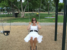 mom playing at the park