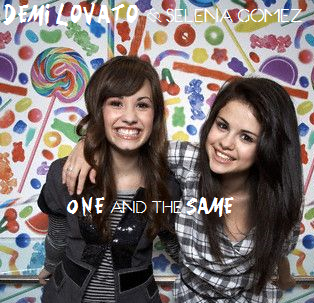 AlbumCoversUSA: Demi Lovato & Selena Gomez - One and the Same (Fanmade Single Cover)
