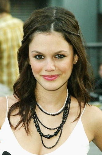 Braid hairstyle is simple. Rachel Bilson's braided look is more on the