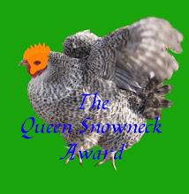 Queen Snowneck Award!