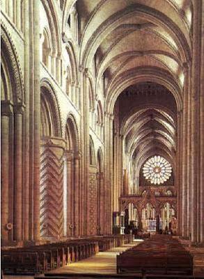 Viaje italia g tico for Catedral de durham interior