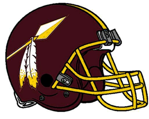 The Sports Fiddler Washington Redskins Concept Helmet