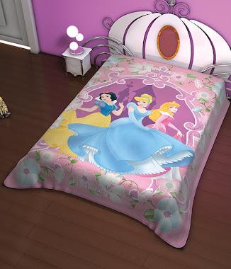 cobertor princesas