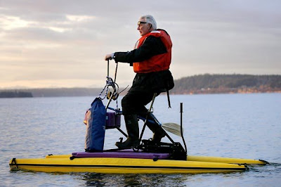 Image of water bike in Seattle