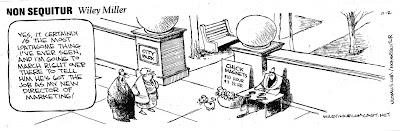 Image of Non-sequitor cartoon