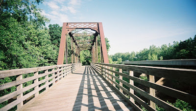 Image of bridge on the Lost Bridge Trail near Springfield, IL
