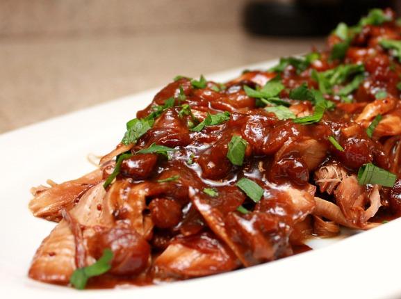 APPLE A DAY: Slow Cooker Cranberry-Orange Pork Roast
