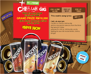 Nescafe 'Chill-lah Gig' Contest