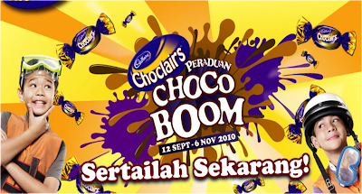 Cadbury Choclairs 'Choco Boom' Contest