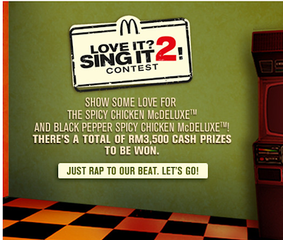 McDonald's 'Love It? Sing It 2!' Contest
